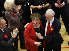 Corbyn Accidentally Slaps Emily Thornberry's Breast [Photos]