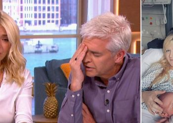 Holly Willoughby and Phillip Schofield in tears during Charlie Gard phone-in at mother's heartbreaking story about tragic son