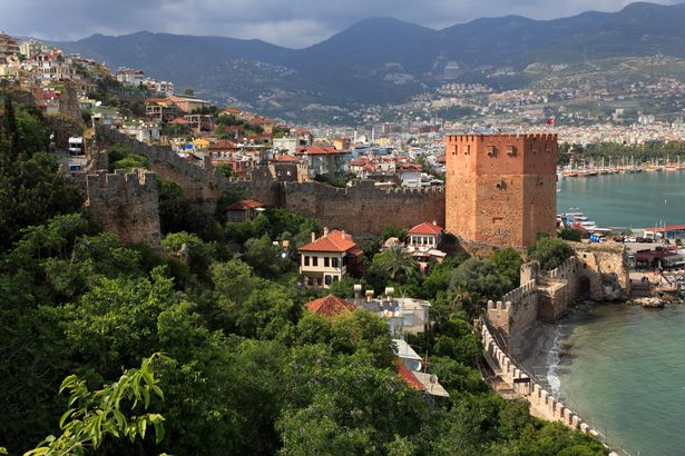Alanya is on Turkey's Mediterranean coast (Image: Photononstop RM)
