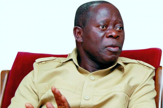 Workers boo Oshiomhole for attacking restructuring campaigners