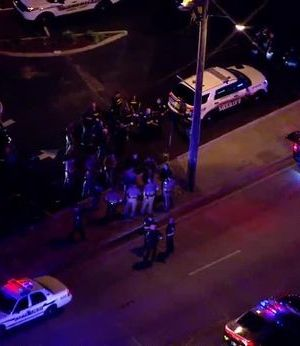 6 police officers shot, one killed in cities across the US in night of violence