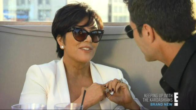 Kris Jenner was caught having passionate sexx with Todd Waterman in her Robert Kardashian's best friend's house