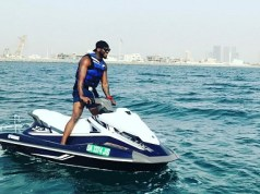 Gossips: Peter Okoye In Dubai On Short Vacation (See Photo)