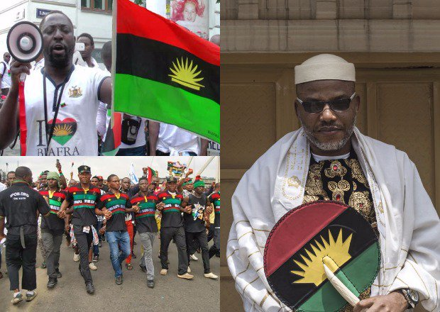 Nnamdi Kanu reveals the truth on 'invasion' of residence by Nigerian Army