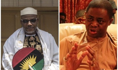 "Fani-Kayode to Nnamdi Kanu: ""To the Lion of the East...be peaceful, reject the idea of an armed struggle"""