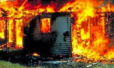 Suspected cult group set police station ablaze in Bayelsa