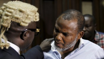Live Update: Mazi Nnamdi kanu, leader of IPOB appears in court