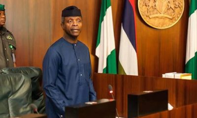 Osinbajo denies receiving N4billion from suspended EFCC Chairman, Ibrahim Magu