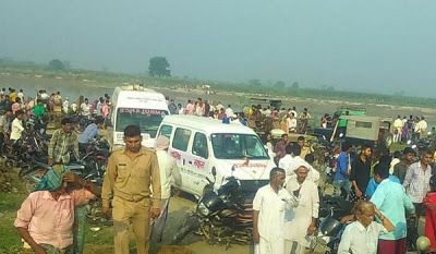 India, 22 drown as boat capsizes in India this morning