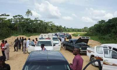 Bayelsa Gov Makes History, Drives to Aleibiri, Ekeremor LG, 40 years After Conception