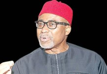 Senator Abaribe in court for Kanu's trial