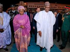 Aisha Buhari not happy with Buhari in Turkey