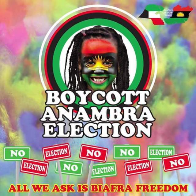 Anambra Election: IPOB should adopt best approach for boycott