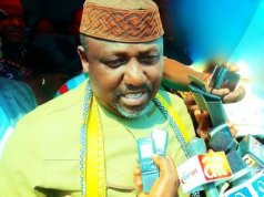 Rochas 'attacks' Buhari over treatment of Nigerian youths