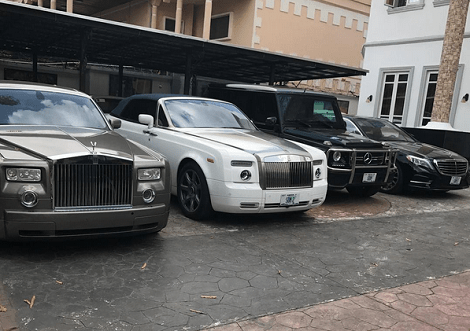 Photos: Dino Melaye displays his 20 exotic cars