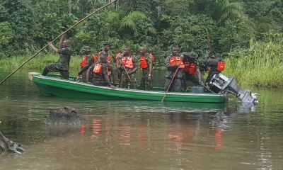 Navy storms Niger Delta with 7 ships, 37 boats in the Operation Octopusgrip