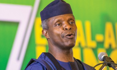 Accusations against Buhari are untrue - Osinbajo