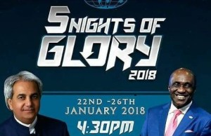 Live stream: 5 nights of glory 2018 - Day 2