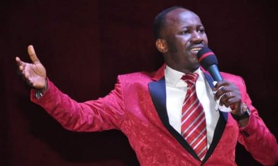 Apostle Suleiman condemns comedians that make jokes about Jesus, says no one can make jokes about Mohammed