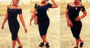 Stunning ex Beauty Queen Bella Sylva rocks it black (Photos)