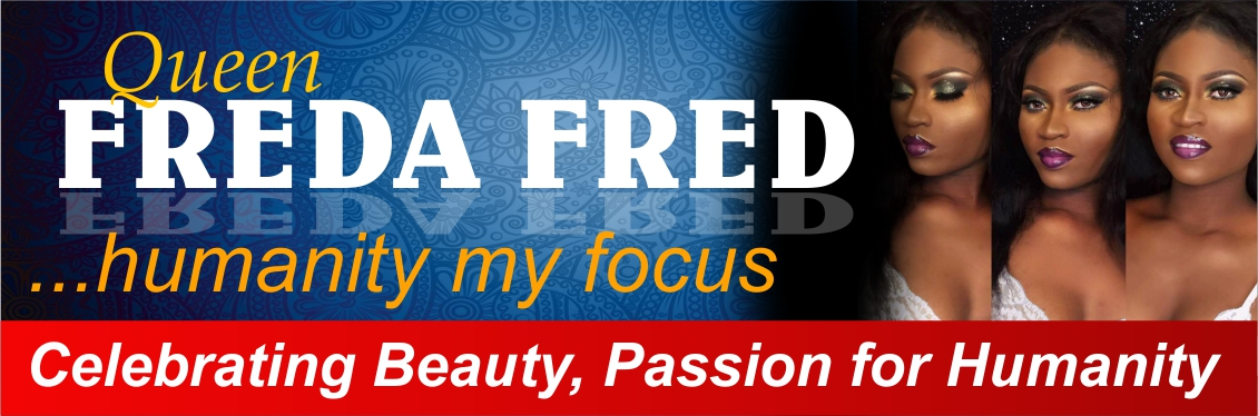 Chidi's Palace, Queen Freda Fred banner