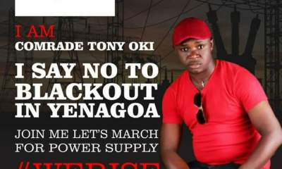 Yenagoa Blackout: Group sets to stage peaceful protests against PHED