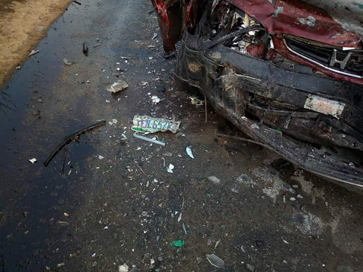 Oh My God! A Fatal Motor Accident Along Tombia Amassoma bridges (Photos)