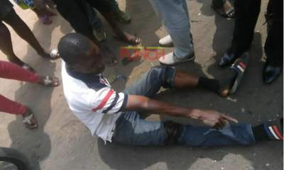 Just In: Robbers shoot man, snatch N1.7m in front of bank