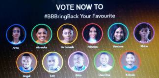BBNaija 2018: How to bring back your favorite housemate to big brother