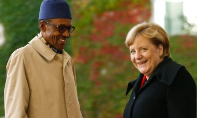 Buhari writes German Chancellor, Merkel on her re-election