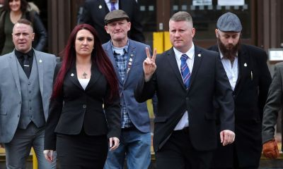 Britain First leader and deputy are jailed for hate crime