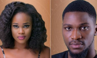 BBNaija 2018: How I felt after kissing Cee-c – Tobi reveals
