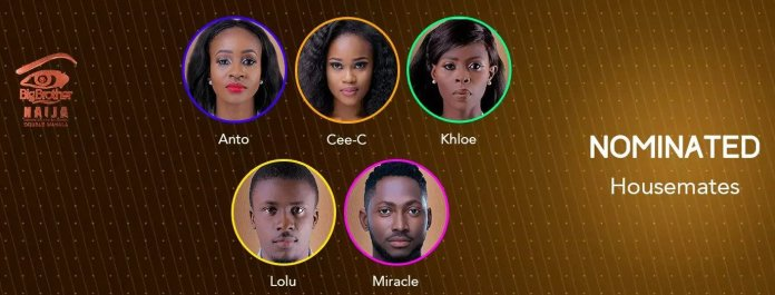 BBNaija 2018 Day 77 Sunday eviction show - Live update
