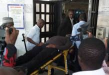 Dino Melaye in hospital after struggling with police