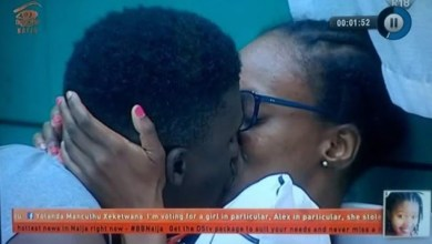 BBNaija 2018: Watch as Lolu and Anto have a passionate kiss
