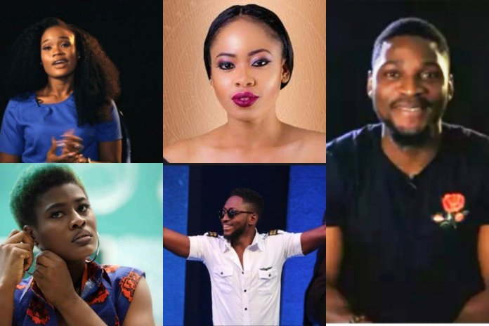 "SEARCH Daily Post Nigeria Daily Post Nigeria ENTERTAINMENTBBNaija 2018: Alex breaks down in tears as housemates receive messages from home [VIDEO]Published on April 16, 2018 By Fikayo Olowolagba Big Brother on Sunday surprised housemates by showing each of them recorded messages from their respective homes on the screen in the lounge. This is coming at a time when the housemates have less than a week to end the reality show. Alex after listening to her Aunt's message on the TV screen broke down into uncontrollable tears. Her Aunt said, "" You have been strong and playing your game from day 1. Even when Leo left, you picked up the strength to be you. ""You have been making us proud. We are all proud of you."" Meanwhile; Alex, Miracle, Nina, Tobi and Cee-c are the last five housemates in the show finale."
