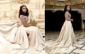 BBNaija Finalist Cee-c looks like a Queen in new regalia - Photos