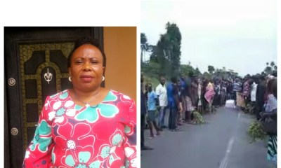 Hon Kate Owoko condemns frivolous act perpetrated by some imported disgruntled elements at Amassoma