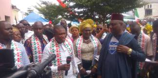 PDP Youth Alliance Bayelsa State Chapter Passed a Vote of Confidence on Seriake Dickson