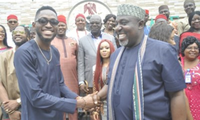 BBNaija Update: Rochas rewards Miracle, Nina with N2m, land in Imo state