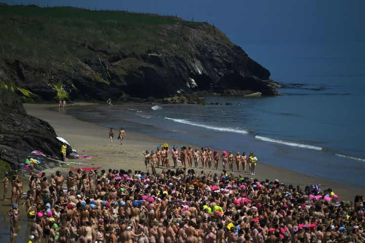 New skinny-dipping world record set by thousands of women - and raised funds to fight cancer too