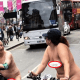What a world! Nak3ed couple spotted riding bicycles in busy London road 18+ 2