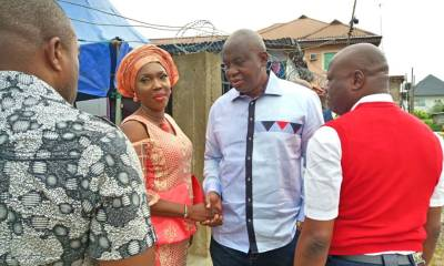 Arthur Obi Okafor SAN celebrates with FIDA Bayelsa Chairperson