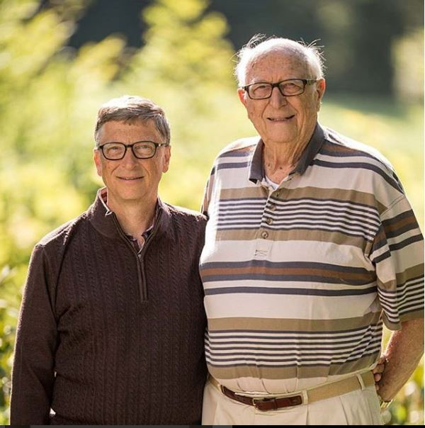 Billionaire Bill Gates celebrates his dad on Father's Day, says he's the real 'Bill Gates'