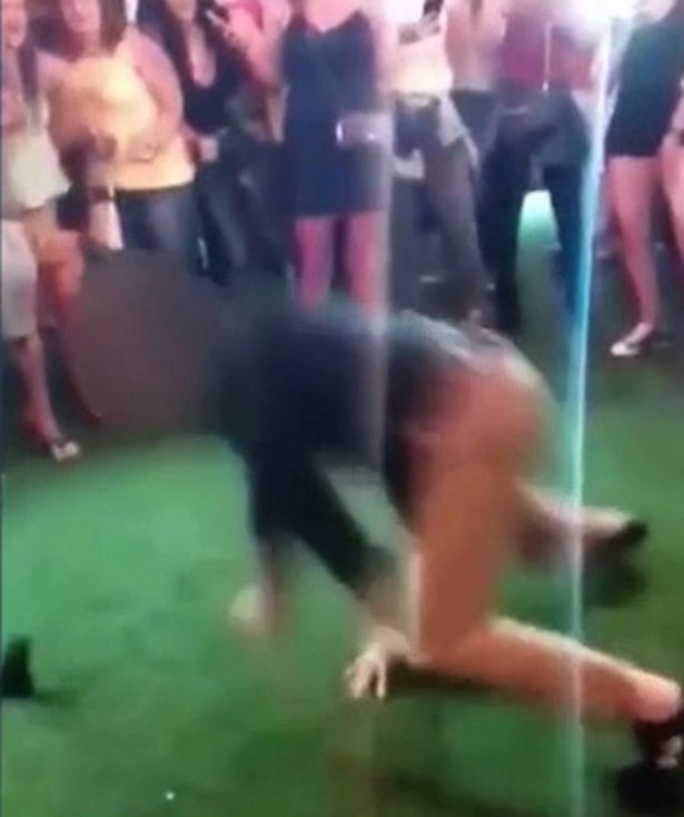 Off-duty FBI agent who accidentally shot man while performing back flip in nightclub is arrested