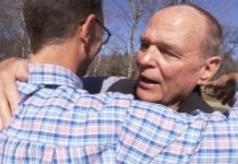 Father and son meet for the first time in 50 years after DNA test confirmation