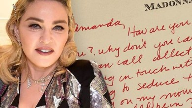 Madonna's steamy love letter to female model up for auction! Read in full