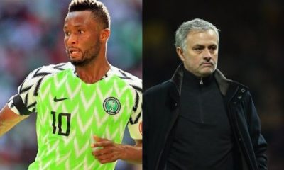 Mikel Obi a bad number 10 for Super Eagles – Mourinho speaks on Nigeria's loss to Croatia