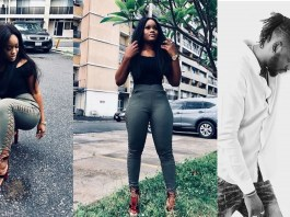Cee-C shows off her curves in laced up fashion pants, celebrates Teddy A on his Birthday