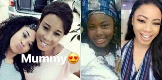 BBNaija Nina shows off mum after been accused of bleaching